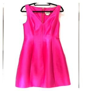 GORGEOUS kate spade hot pink party dress!